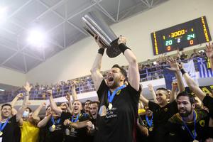 Κυπελλούχος Ευρώπης η ΑΕΚ στο χάντμπολ! (pics & video)