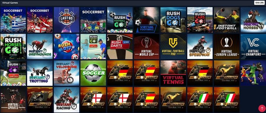 Virtual Sports στην Novibet: Παιχνίδια και αγορές