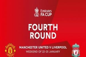 Κύπελλο Αγγλίας: Ντέρμπι Μάντσεστερ Γιουνάιτεντ - Λίβερπουλ στους «32»
