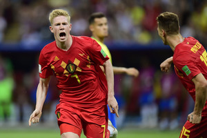 Euro2020 - Βέλγιο: Αγωνία για Ντε Μπρόινε και Αζάρ