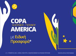Copa America στη Novibet με σούπερ προσφορές* (* Ισχύουν όροι και προϋποθέσεις)