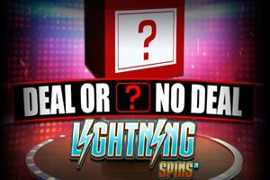 Το Deal or no Deal Lightining Spins ήρθεστοκαζίνογια ναμείνει!