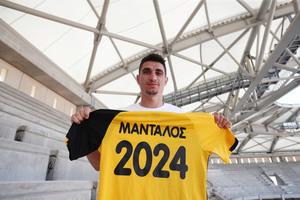 ΑΕΚ: Ανανέωσε κι επίσημα μέχρι το 2024 ο Μάνταλος