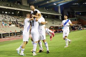 Βέλγιο-Ελλάδα 1-1: Όρθια και με διάθεση η πολύ καλή Εθνική στις Βρυξέλλες (video)