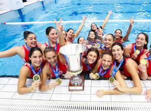 Πρωταθλήτρια Ευρώπης η ομάδα πόλο γυναικών του Ολυμπιακού! (video)