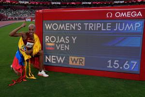 Ολυμπιακοί Αγώνες: Η Ρόχας κατέρριψε... στοιχειωμένο παγκόσμιο ρεκόρ στο τριπλούν! (video)