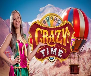 Crazy Time Live: Τρελό παιχνίδι στο ζωντανό καζίνο!