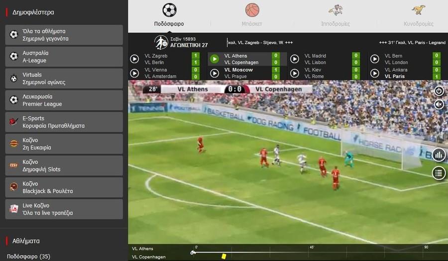 Virtual Sports στην Winmasters: Παιχνίδια και αγορές