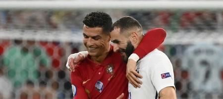 Πορτογαλία - Γαλλία 2-2: Ρονάλντο, Μπενζεμά... ισοπαλία και πρόκριση!