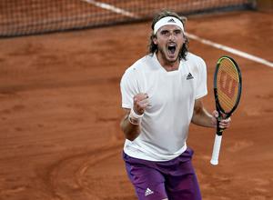 Ασταμάτητος ο Τσιτσιπάς, για 2η σερί χρονιά στους «4» του Roland Garros! (video)
