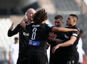 Super League Interwetten: Τεσσάρα και 2η θέση ο ΠΑΟΚ (video)