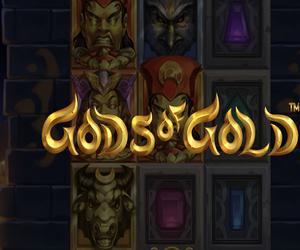 Το δημοφιλές Gods of Gold Infinireels στο καζίνο της Vistabet