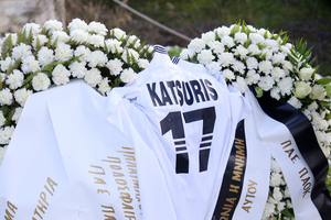 Ο ΠΑΟΚ τίμησε τη μνήμη του Παναγιώτη Κατσούρη (pics-video)